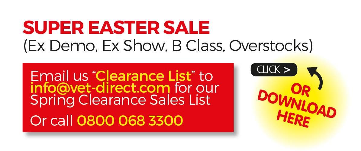 Super Easter Sales List