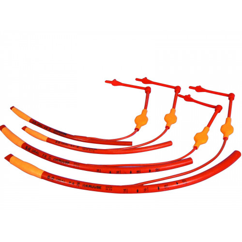 Endo Tube Red Cuffed 12mm x 36cm*1