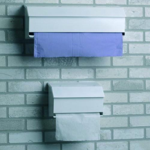 Dispenser White Metal - Pull Action - For RRP6402/ VDP003  Hygiene Rolls 2 PLY * 1
