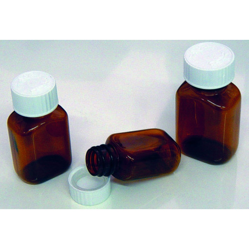 Tablet Bottle ( Plastic ) Amber 90ml * 100