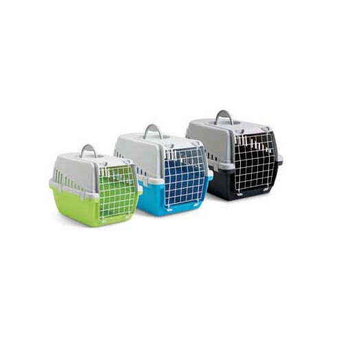 Pet-Porta Large (Lime Green and Grey) Pet Carriers*1