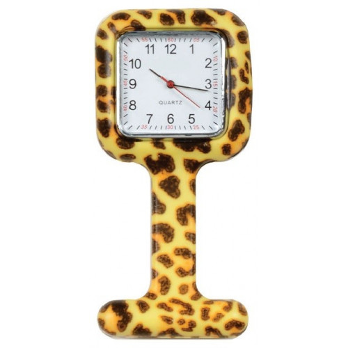 Square Watch - Leopard Design*1