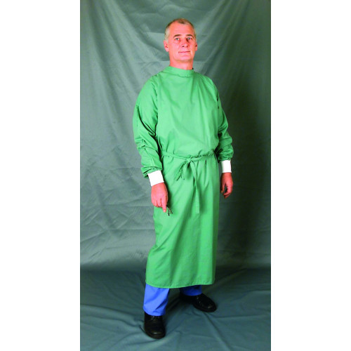 Surgeons Operating Gown Jade Green Long Sleeve *1