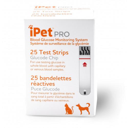 iPet PRO Blood Glucose Test Strips*25