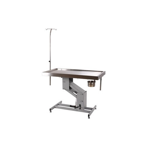 Vet Direct Stainless Steel Operating Table Hydraulic 120cm x 60 cm Height 51.5-105cm*1