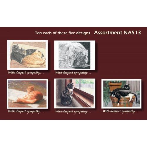 ##D## Cat Assortment Pack 1 (Blank Inside)*50