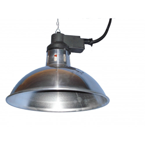 Infra-Red Heater Aluminium (Shade Only - To Go with IR Ceramic Bulb)*1