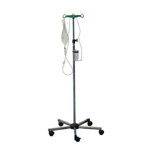 IV Stand Stainless Steel with 2 Hooks*1