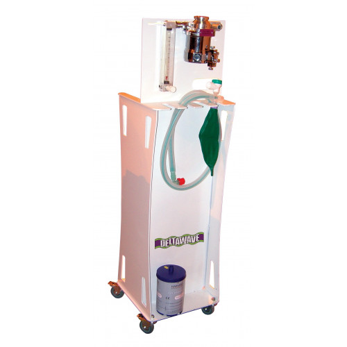 DeltaWave 200 Mobile Anaesthetic Trolley, O2 Flush, 0-10L Rotameter, Oxygen Cyclinders (E or F)*1