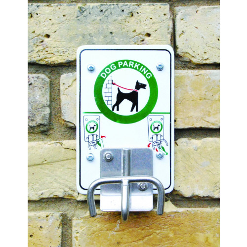 Ddog parking for thethering your pets lead