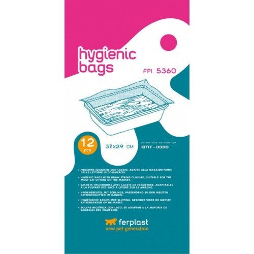 Hygiene Bags for Litter Tray FPI5362 (x12) *1