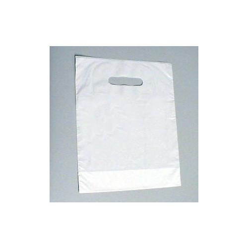 Carrier Bag Plain White *100