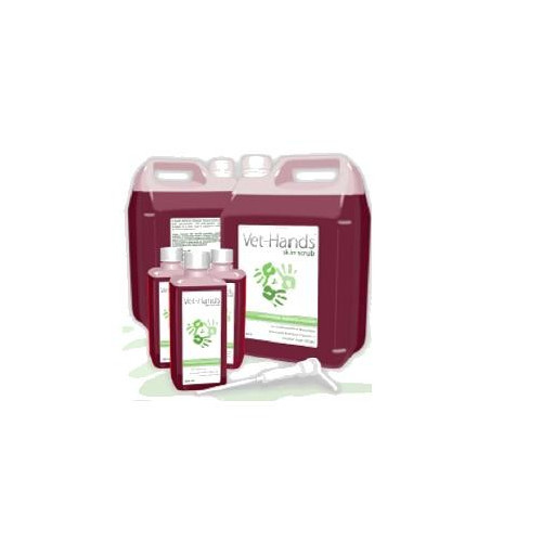 Vet-Hands 5L (High Quality 4% Chlorhexadine Gluconate Scrub with Natural Emollients) *1