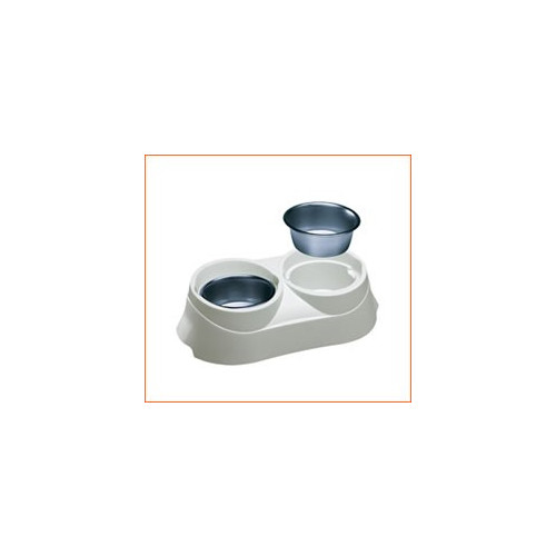 Duo Feed S/Steel Bowl 03 Large *1