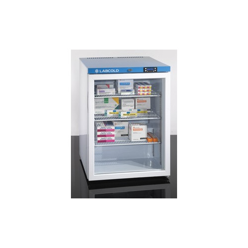 Labcold IntelliCold Pharmacy and Vaccine Fridge 150L GLASS Door (835 X 600 X 600)*1