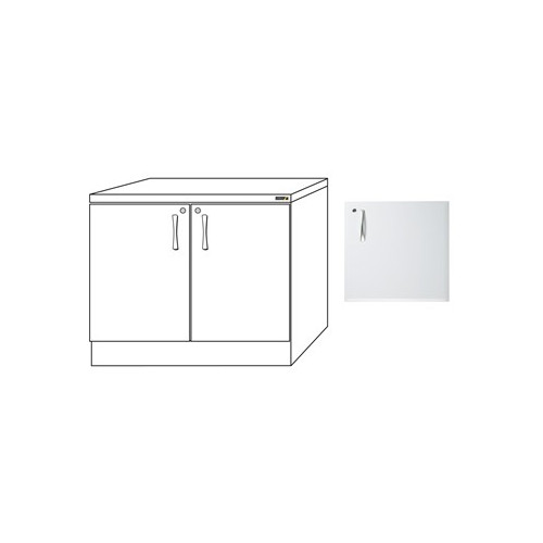 1000mm Base Unit In White