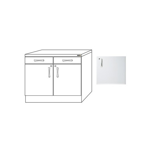 1000mm Drawer Pack In White