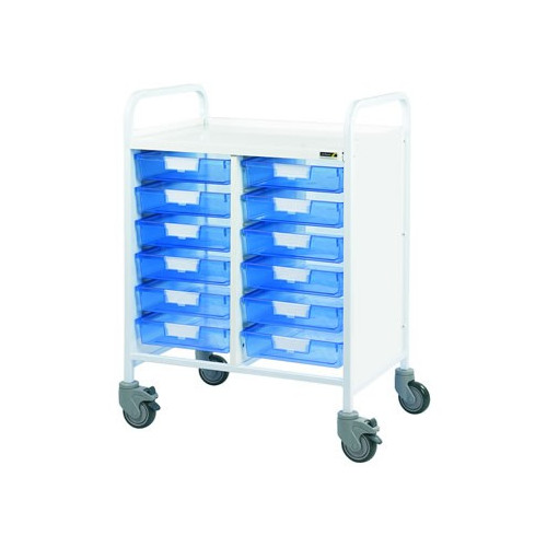 Vista 60 Trolley - Twelve Blue Trays *1