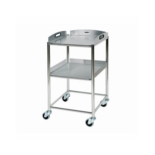 Surgical Trolley Stainless Steel with 2 Trays 860(H)x460(W)x520(D)*1