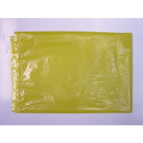 Clinical Waste Bags - Plain Yellow 557x725x960mm x 132 gauge (33mu)*200