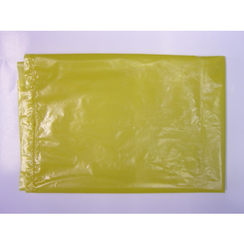 Clinical Waste Bags - Plain Yellow 557x725x960mm x 132 gauge (33mu)*200