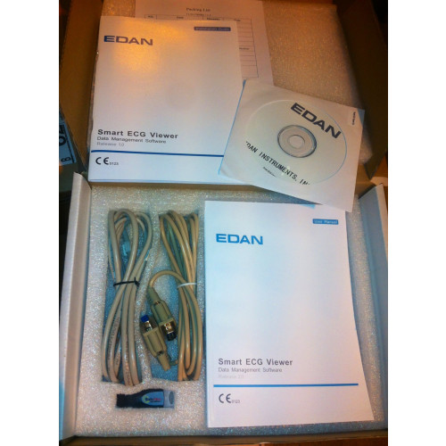 EDAN VE-300 3 Channel ECG UPGRADE Smart Software USB Viewer*1