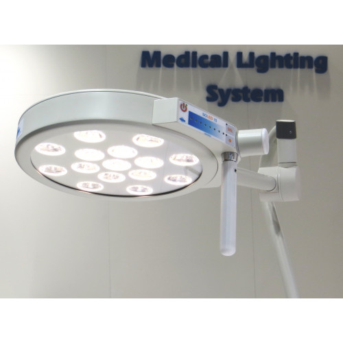 SoLED Wall Mounted - Round Head with 15 LEDs 65,000 lux*1