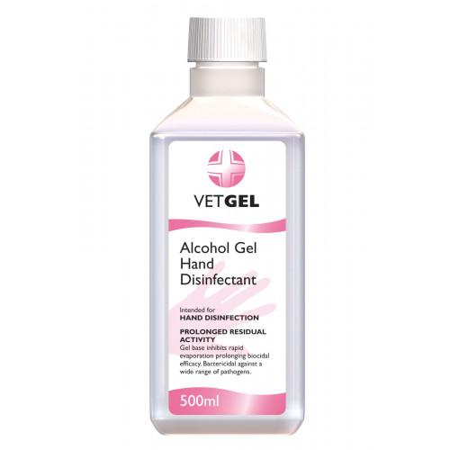 VETGEL Alcohol Surgical Hand Rub Disinfectant 500ml*1