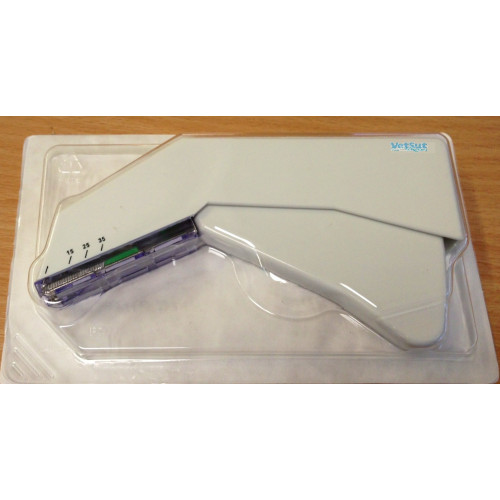 VetSut Skin Stapler 35W (35 Wide Sterile Staples) 7.0mm(W) x 4.0mm(H) after closure*1