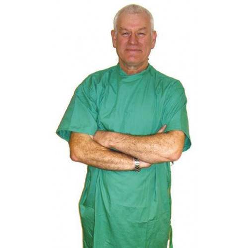 Surgeons Operating Gown Jade Green Short Sleeve*1
