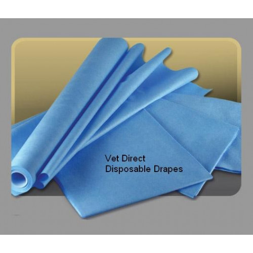 Vet Direct Drapes 100cm2 Premium Blue (200/bx) *1