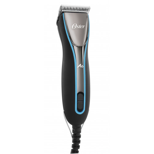"""Oster A6 Slim Clipper """"Black & Silver"""" 3 Speed with free #40 blade  *1"""