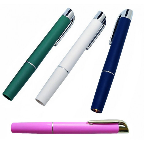 Pen Torch Reusable (Includes 2xAAA Battery) BLUE*1