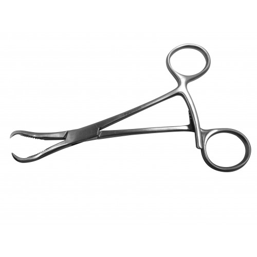 "Bone Holding & Reduction Forcep 12.5cm (5"") Curved*1"
