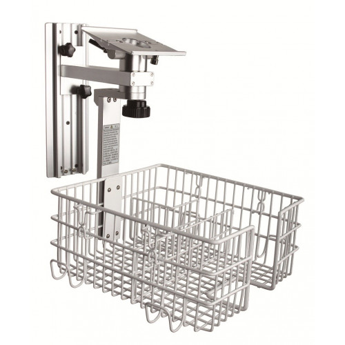 EDAN Multi-Parameter Accessory - Wall Mount with Basket (Specify Plate When Ordering) (M3B)