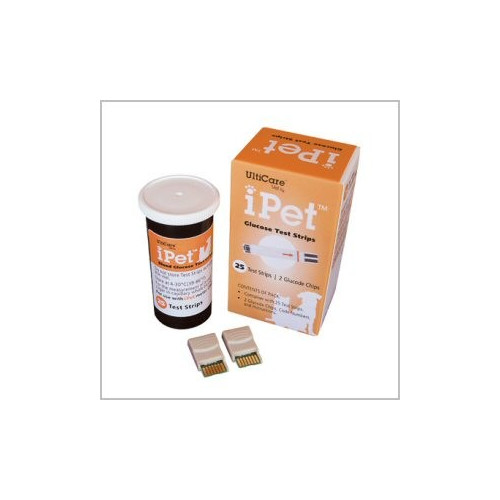 iPet Blood Glucose Test Strips*25
