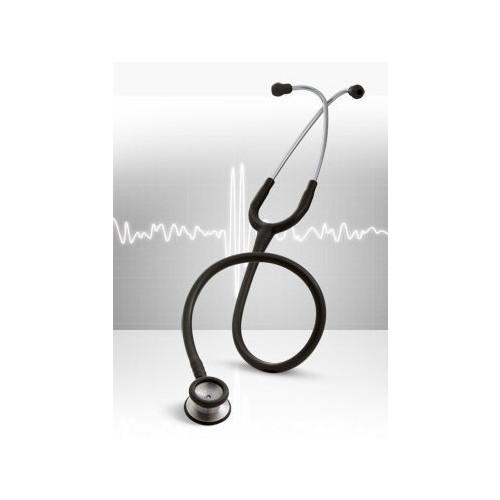 3M Littmann Classic II Paediatric Stethoscope Black 2.9cm Diaphragm with 2.5m Bell on reverse (71cm)*1