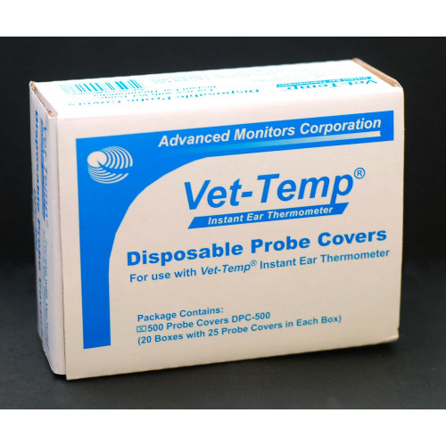 Vet-Temp Ear Thermometer Probe COVERS *500