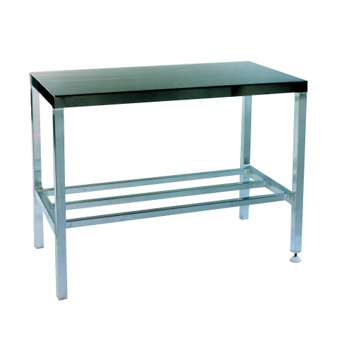 Consulting Table Stainless Steel Top and Stainless Steel Underframe 120x60x84cm*1