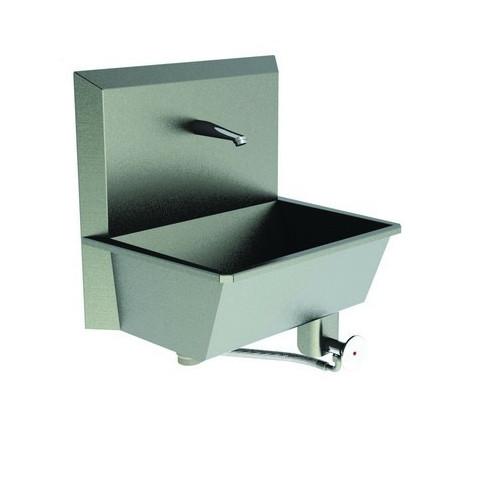 Eco Scrub Sink 1 Station (Knee Push) - Low Maintenance, Water Saving 50x35x38cm*1
