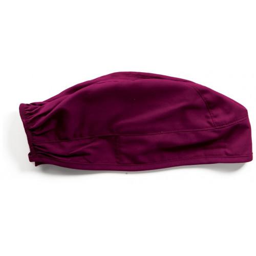 Cherokee Scrub Hat Tie Back Wine*1