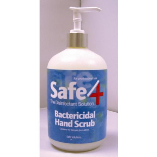 Safe4 Hand Scrub 500ml *1