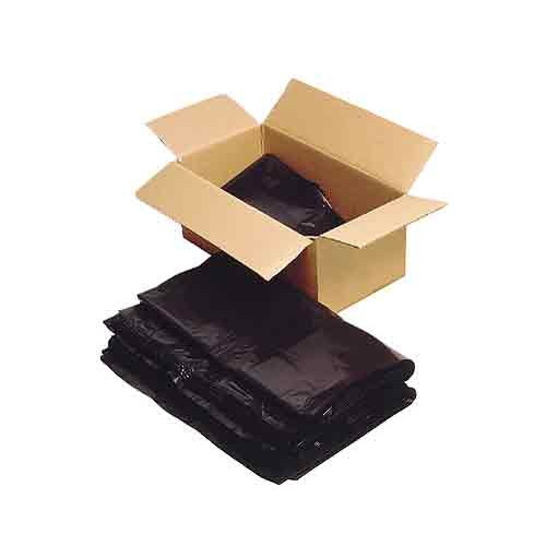 "Plastic Black Bag/Sack Heavy Duty 18x29x39""*200"