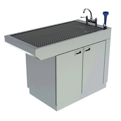 Slimline Tub Table with Cupboard