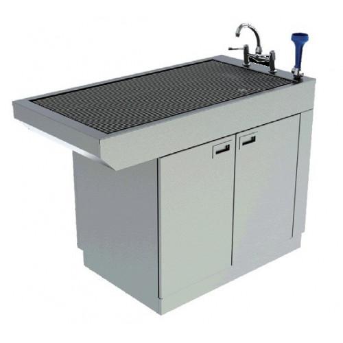 Slimline Tub Table with Cupboard