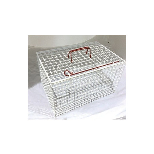 Wire Cat Basket Extra Strong White 45.7x30.5x30.5cm *1