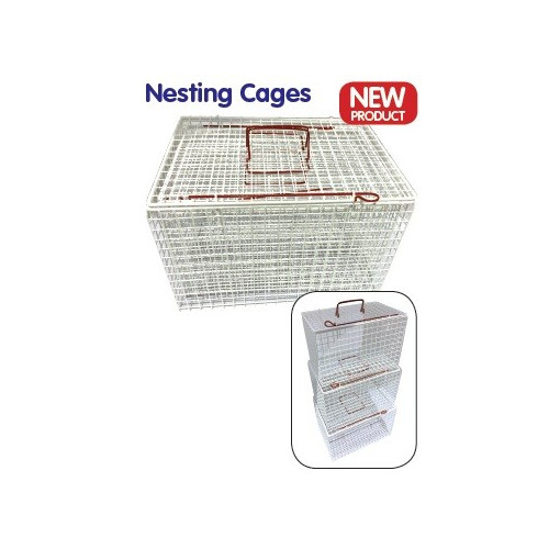 Cat Baskets Extra Strong Nesting Set of 3 S/M/L - Saves Space! *1