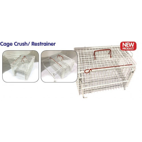 Cat Basket Extra Strong End Opening Restrainer 45.7x30.5x30.5cm *1