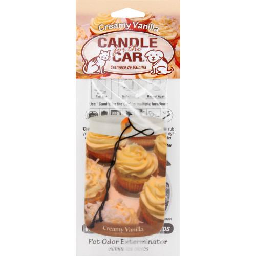 "Vet Car ""Candle""  Creamy Vanilla *1"