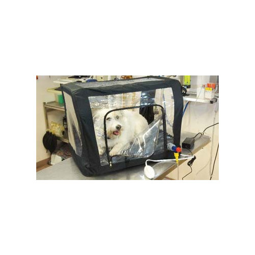Large ICU Oxygen Cage 110x65x65cm (464L) 6.6kg supplied with Mattress, 4 Gel Packs, Electric Mat and Accessories*1
